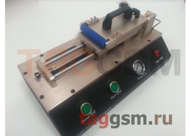 Станок для нанесения OCA / Поляризационной пленки на дисплей TBK A-763 (ламинатор автоматический, ваккумный, универсальный)