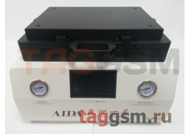 Станок для склейки дисплейного модуля AIDA A-808 (автоклав, компрессор, вакуумная камера + пресс, вакуумный насос)
