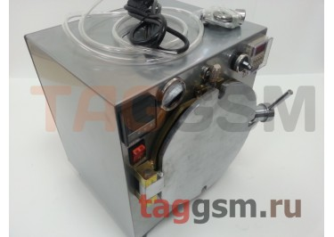 Барокамера (автоклав) для склейки дисплейного модуля, AIDA A-305 (диаметр 15,5см; глубина 17см)