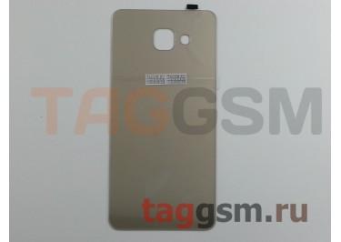 Задняя крышка для Samsung SM-A710 Galaxy A7 (2016) (золото), ориг