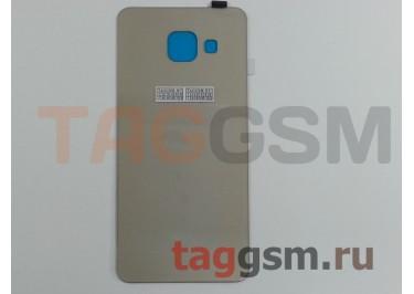 Задняя крышка для Samsung SM-A310 Galaxy A3 (2016) (золото), ориг