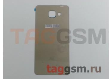 Задняя крышка для Samsung SM-A510 Galaxy A5 (2016) (золото), ориг