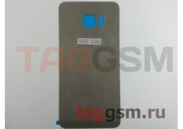 Задняя крышка для Samsung SM-G928 Galaxy S6 Edge+ (золото), ориг