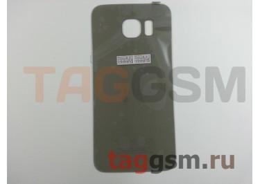 Задняя крышка для Samsung SM-G920 Galaxy S6 (золото), ориг