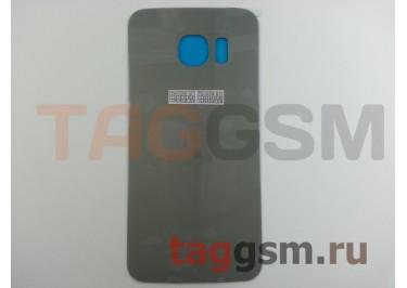 Задняя крышка для Samsung SM-G925 Galaxy S6 Edge (золото), ориг
