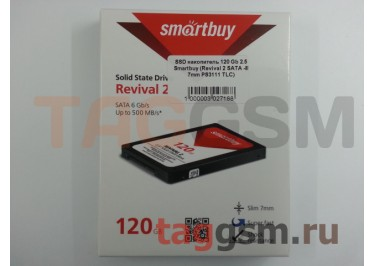 SSD накопитель 120 Gb 2.5 Smartbuy (Revival 2 SATA -III 7mm PS3111 TLC)