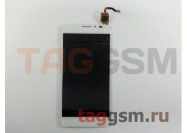 Дисплей для Alcatel OT-6043D Idol X+ + тачскрин (белый)