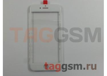 Стекло + OCA + рамка для iPhone 7 (белый), (олеофобное покрытие) ААА
