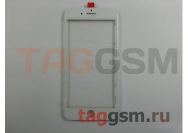 Стекло + OCA + рамка для iPhone 7 Plus (белый), (олеофобное покрытие) ААА