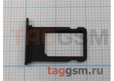 Держатель сим для iPhone 7 Plus (черный)
