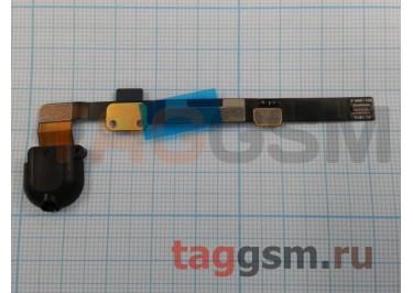 Шлейф для iPad Mini 2 + разъем гарнитуры (черный)