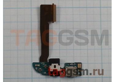 Шлейф для HTC One M8 Dual + разъем зарядки + разъем гарнитуры + микрофон