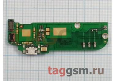 Шлейф для HTC Desire 616 Dual + разъем зарядки + микрофон