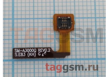 Шлейф для Samsung A300F Galaxy A3 + кнопка включения