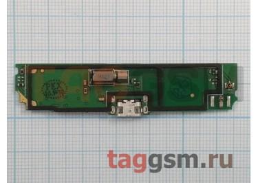 Шлейф для Lenovo S890 + разъем зарядки + микрофон + вибро