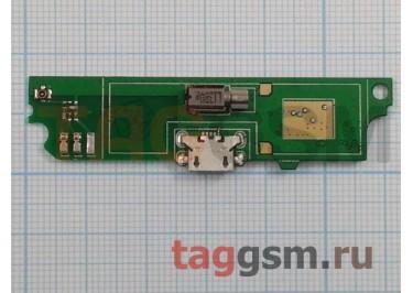 Шлейф для Lenovo A516 + разъем зарядки + микрофон + вибро