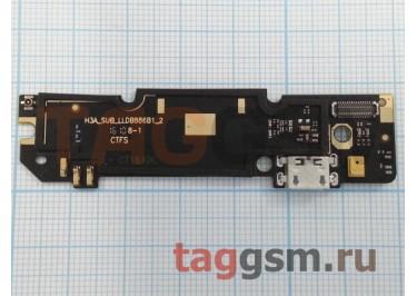 Шлейф для Xiaomi Redmi Note 3 Pro + разъем зарядки