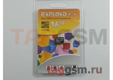 Micro SD 16Gb Exployd Class 10 без адаптера