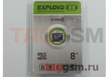 Micro SD 8Gb Exployd Class 4 без адаптера