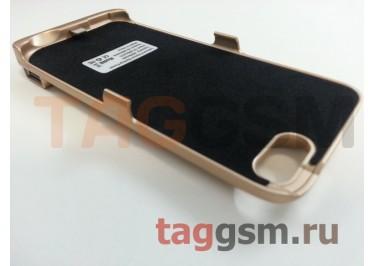 Дополнительный аккумулятор для iPhone 7 6000 mAh (золото)