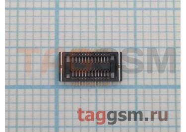 Коннектор дисплея для Nokia 3120c / 3600s / 3720c / 5310 / 5320 / 5610 / 5630 / 5700 / 6110n / 6120c / 6220c / 6300 / 6303 / 6500c / 6500s / 7310 / 7500 / 7610sn / 8600 / E51 / E65 / E90 / N71 / N73 / N93 24pin