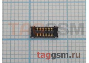 Коннектор дисплея для Nokia 311 24pin
