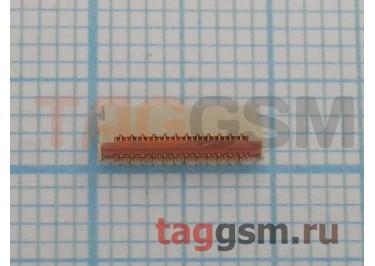 Коннектор дисплея для HTC Desire 310 / Nokia 5228 / 5230 / 5233 / 5800 /  / C5-03 / C6-00 / N97 Mini / X6-00 25pin