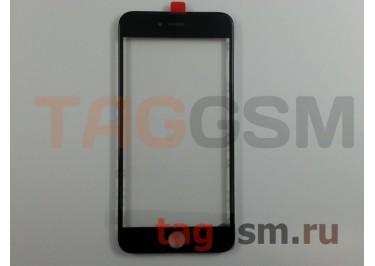 Стекло + OCA + рамка для iPhone 6S Plus (черный), (олеофобное покрытие) ААА