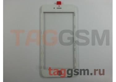 Стекло + OCA + рамка для iPhone 6S Plus (белый), (олеофобное покрытие) ААА