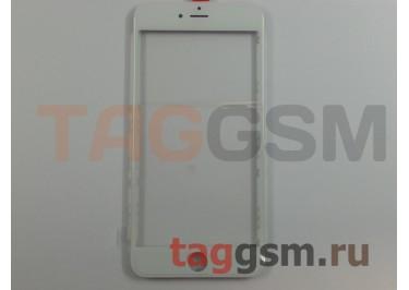 Стекло + OCA + рамка для iPhone 6 Plus (белый), (олеофобное покрытие) ААА