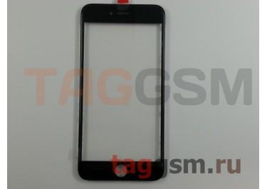 Стекло + OCA + рамка для iPhone 6 Plus (черный), (олеофобное покрытие) ААА