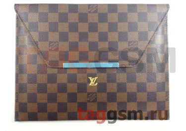 Чехол сумка IPAD2 Louis Vuitton №1 кожа кофейный
