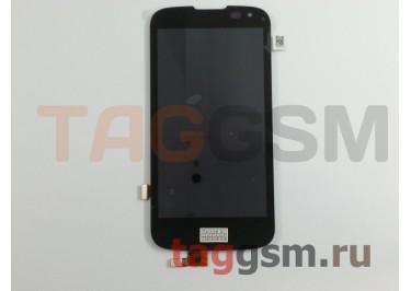 Дисплей для LG K100DS K3 LTE + тачскрин (черный)