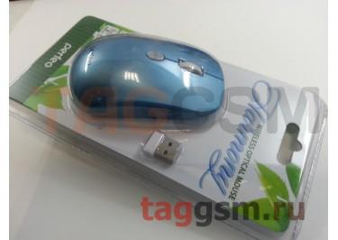 Мышь беспроводная Perfeo Harmony (голубая)
