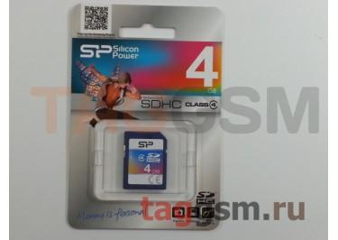 SD 4Gb Silicon Power Class 4