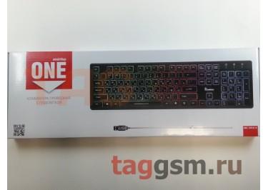 Клавиатура проводная Smartbuy ONE 305 USB Black (SBK-305U-K) (с подсветкой клавиш)