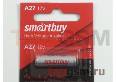 Спецэлемент Smartbuy 27A-5BL (батарейка,12В)
