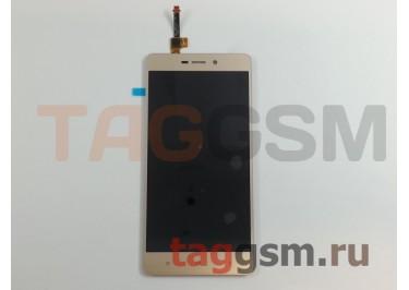 Дисплей для Xiaomi Redmi 3 / Redmi 3s / Redmi 3 Pro / Redmi 3x + тачскрин (золото)