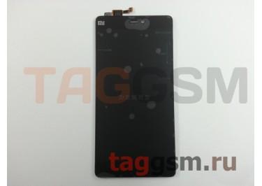 Дисплей для Xiaomi Mi4i + тачскрин (черный)