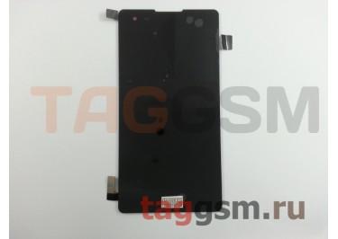 Дисплей для LG K200DS X Style + тачскрин (черный)
