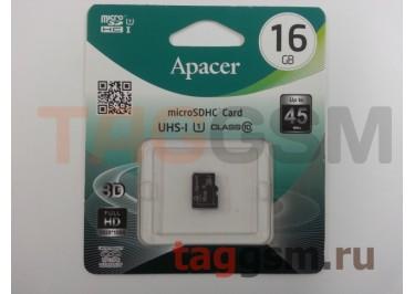 Micro SD 16Gb Apacer Class 10 без адаптера