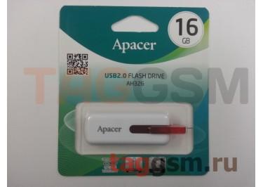 Флеш-накопитель 16Gb Apacer AH326 White