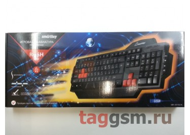 Клавиатура проводная Smartbuy мультимедийная игровая 201 USB Black (SBK-201GU-K)