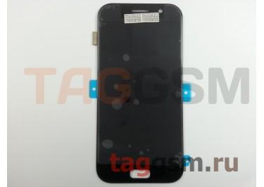 Дисплей для Samsung  SM-A520 Galaxy A5 (2017) + тачскрин (черный), ОРИГ100%