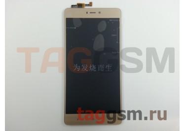 Дисплей для Xiaomi Mi4s + тачскрин (золото)