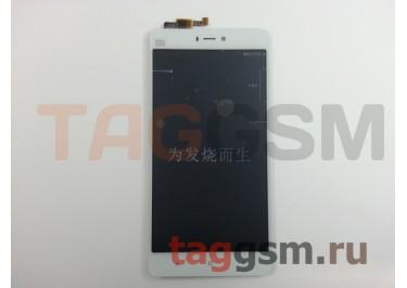 Дисплей для Xiaomi Mi4s + тачскрин (белый)