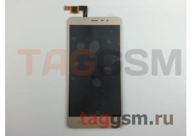 Дисплей для Xiaomi Redmi Note 3 / Redmi Note 3 Pro + тачскрин (золото)