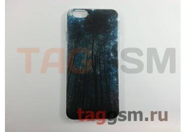 Задняя накладка Deppa для iPhone 6 / 6S (4.7) (прозрачная звезды)