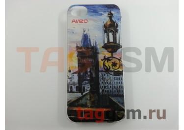 """Задняя накладка Anzo для iPhone 5C Акварель (№8 """"Бухта"""")"""