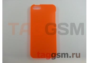 Задняя накладка Ensi для iPhone 5 0,8mm (оранжевая)